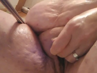 Bbw Thick Juicy Pussy Vibrating For Daddy
