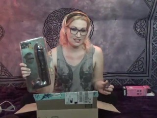 Violet Ventur Unboxing Dildos And Smoking