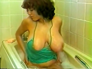 Curly Blond Haired Mature Slut With Huge Boobies Sucks Strong Lollicock