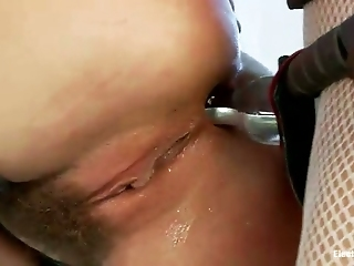 Well Stacked Mistress Fucks Suspended And Blind Folded Porn Actress