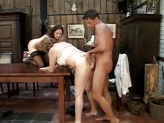 Threesome In The Restaurant With The Director Of The Restaur