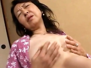 Horny Son Taking Japanese Mom To Travel